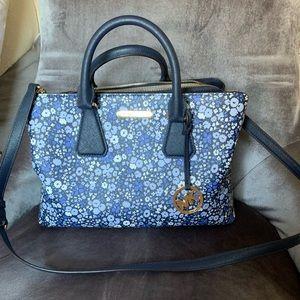 Michael Kors floral handbag